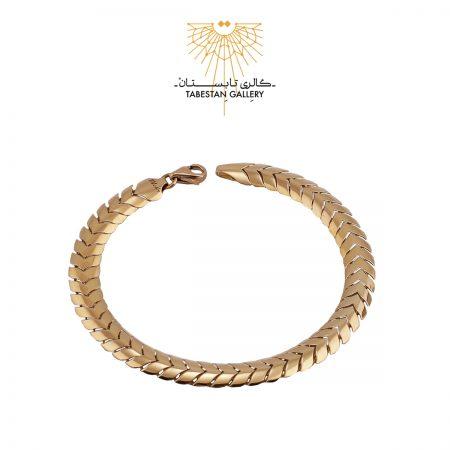 دستبند طلا پوست ماری