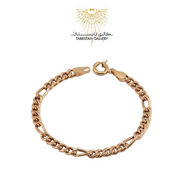 دستبند طلا فیگارو