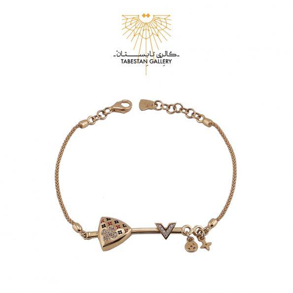 دستبند طلا لویی ویتون